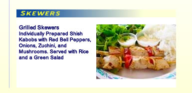 Sharks Cove Grill Skewers