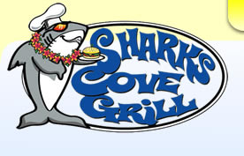 Sharks Cove Grill Logo